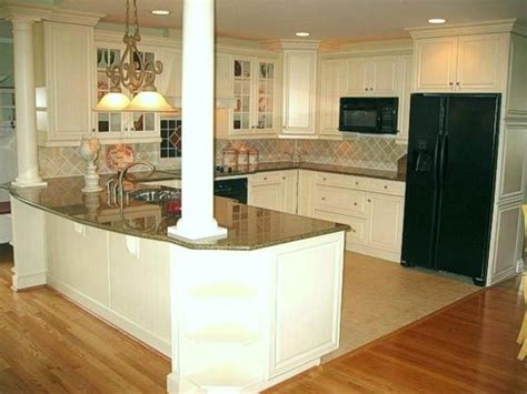 kitchen island columns pin by kerri misener on new kitchen
