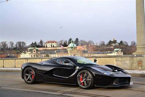 gallery black laferrari in prague