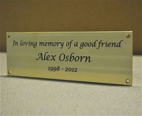 memorial benches with plaque brass memorial bench plaque brunel engraving