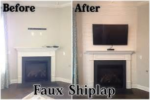 Bathroom Wall Idea The Lewis Family Faux Shiplap Accent Wall
