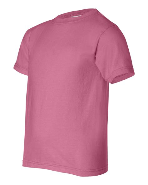 comfort t shirts comfort colors 9018 youth pigment dyed ringspun t shirt