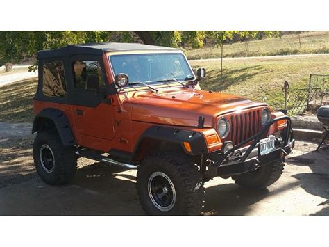 Used Jeeps For Sale In Missouri 2002 Jeep Wrangler For Sale By Owner In Joseph Mo 64508