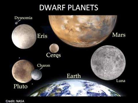 dwarf planets, pluto, eris, ceres youtube