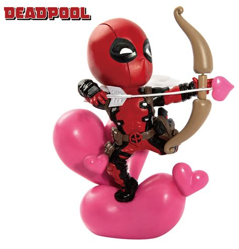 Fig 2184 Vi Egg Attack mar188664 marvel comics mea 004 deadpool cupid px fig previews world