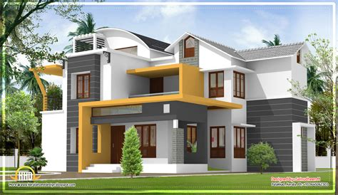 Contemporary Kerala Style House Plans Home Design House Painting Designs Exterior Home Painting Pictures Kerala Beautiful Exterior