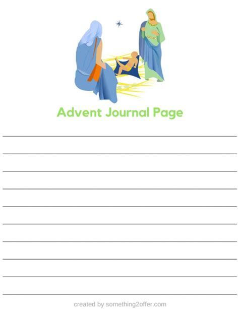 printable advent journal free advent journal pages