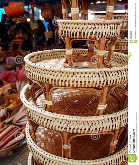 Handmade Crafts For Sale - local craft product on stock photo image 53530253