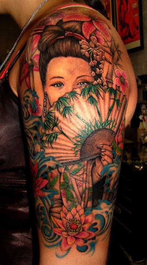 tattoo oriental geisha significado 9 ideas de tatuajes de geishas de hombre mujer fotos