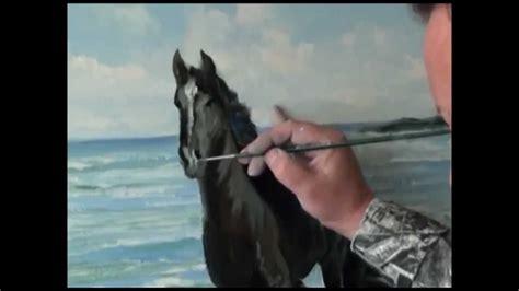 bob ross painting horses igor sakharov wrote a running