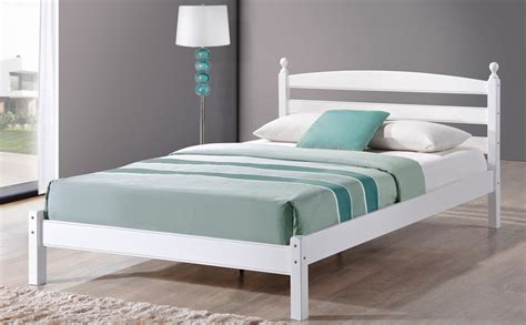 small double beds oslo white wooden small double bed only 163 169 99