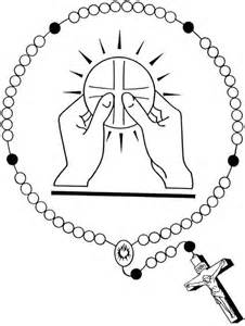 catholic coloring pages eucharist rosaries and catholic on