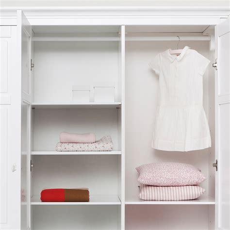 childrens luxury 3 door wardrobe in white desks drawers