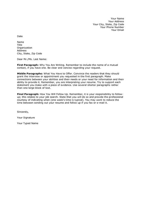 cover letter template doc business template