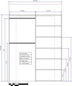plans for closet organizer how to build a amazing diy