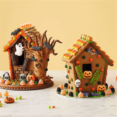 ideas for gingerbread houses halloween gingerbread houses hallmark ideas inspiration