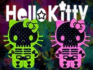 kitty neon wallpaper livinglikeness deviantart