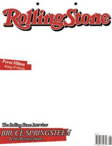 Magazine Cover Template Png by Rolling Magazine Template