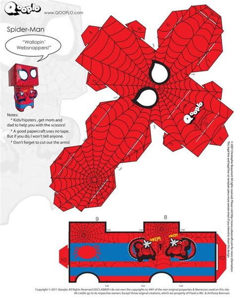 Spider Papercraft - spider cubeecraft cubeecraft