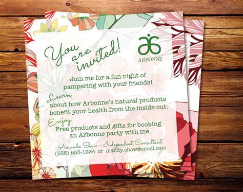 Interesting Arbonne Party Invitation Sle Launch Party Exles Arbonne Invitation Templates Free Arbonne Flyer Templates