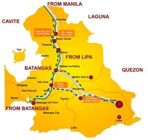 kabayan resort map quot weekend getaway quot san juan batangas adventure part 1