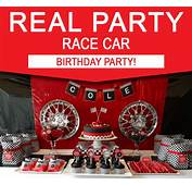 Race Car Birthday Party Ideas  Printable Decorations