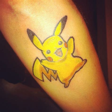 pika pika tattoos pinterest pokemon pikachu tattoo