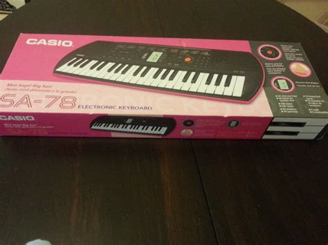 Keyboard Casio Sa 78 casio keyboard sa 78 for sale in oranmore galway from angelica123