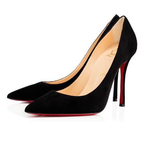 louboutin shoes christian louboutin decoltish pumps black 100mm 1170028bk01