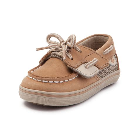 sperry infant shoes infant sperry top sider bluefish boat shoe light brown