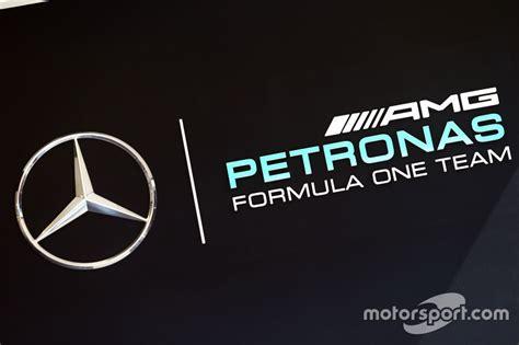 Mercedes AMG F1 logo at Belgian GP