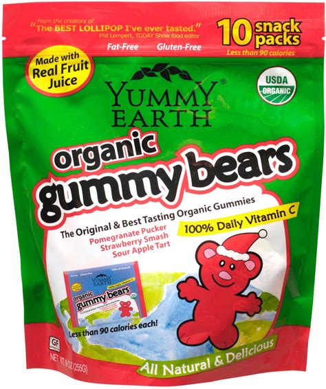 Yum Market Finds Make Earth Day Everyday by Yumearth Organic Gummy Bears Review Pennywise Cook