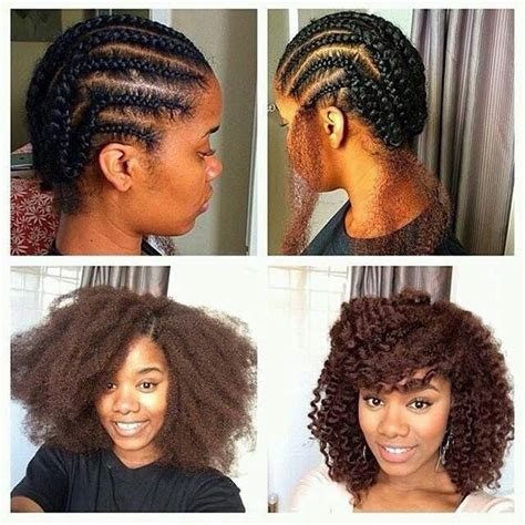 natural real hair for weave styles 41 chic crochet braid hairstyles for black hair page 2