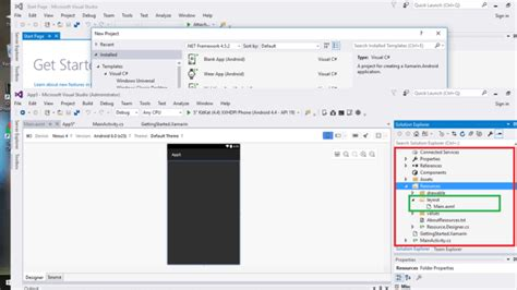 sliding tab layout android xamarin creating sliding tab layout interface using xamarin