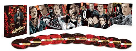 quentin tarantino film print collection tarantino xx 8 film collection complete package art