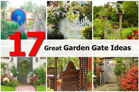 Garden Gate Ideas 17 Great Garden Gate Ideas