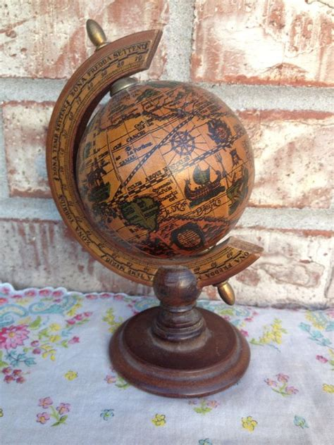 Small Desk Globe by Small Desk Globe 6 Mini Spinning Desk Globe Antique