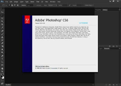 tutorial dasar adobe photoshop cs6 cara mendownload dan install photoshop cs6 extended