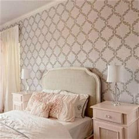 wall stencils ideas for dreamy romantic bedroom decor inspiration for stencils stenciling patterns and diy