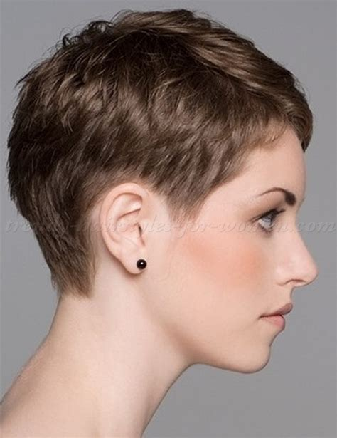 women hairstyles short in back long on sides pixie cut pixie haircut cropped pixie precision cut