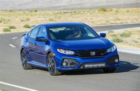 Honda Civic 2017 Horsepower by 2017 Honda Civic Si Sedan Features And Specs