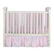 baby keeps hitting on crib bumpers the safer alternative reversible pink