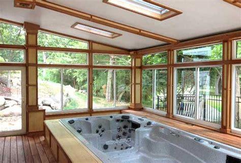 backyard ideas   michael phelps swim spa