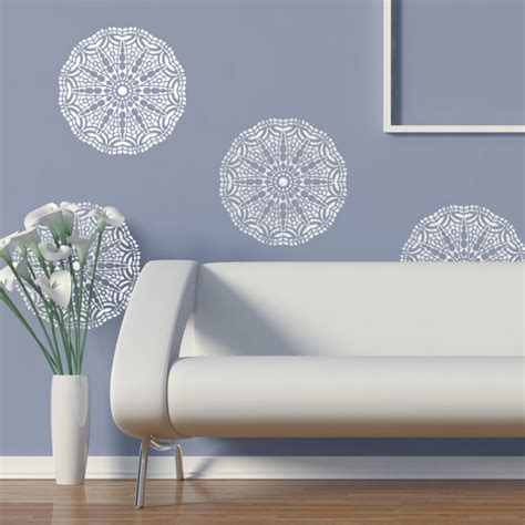 painting stencils for wall art wall lace decorative stencil talia for home painting