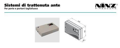 ninz porte multiuso centrale monozona ninz per la gestione di elettromagneti