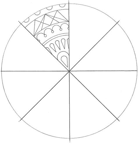 radial designs coloring pages visual arts working with radial symmetry