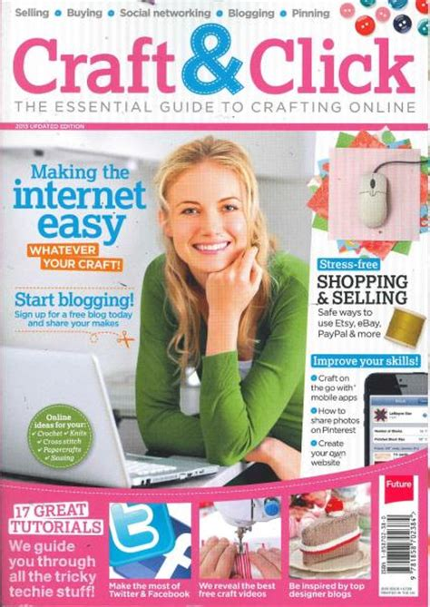 craft magazine for craft click magazine subscription