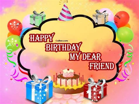 Happy Birthday Friend Cards Happy Birthday My Dear Friend Pictures Photos And Images