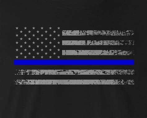enforcement blue line thin blue line enforcement t shirt department
