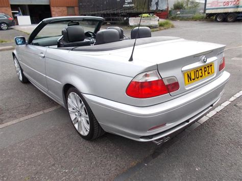 Bmw 320 Ci Convertible E46 Other Black Country Location