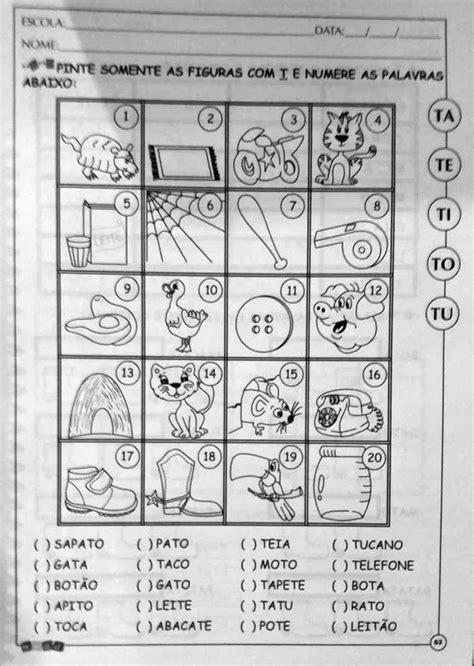 Alfabetização Silábica Tindolelê - 1ºano 5 A 6 Anos - R